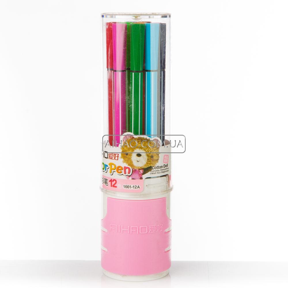 Набор фломастеров Koh-i-Noor Веселые животные 1 мм 24 шт разноцветный 1002/24 KS 1002/24 KS